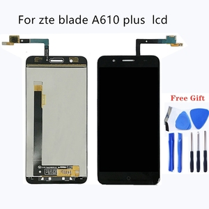 Image 1 - Suitable for zte blade A610 plus A2 plus LCD display and touch screen 5.5 inch mobile phone accessories for zte blade BV0730