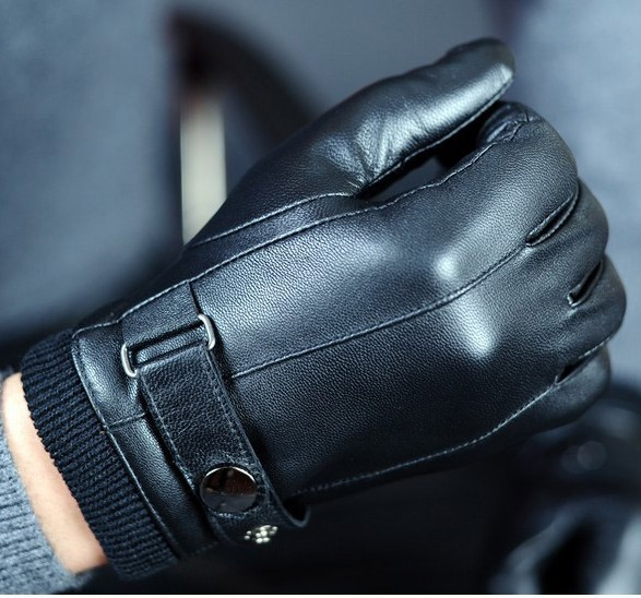 Best Ing 2pairs Good Quality Mens Genuine Leather Winter Gloves Cashmere Lined