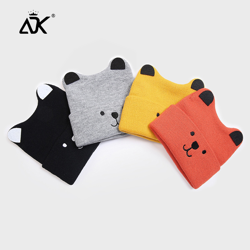 Puppy Hats For Children 2-6 Years Kids Bonnet High Quality Warm Polyester Stretchy High Qualit Warm Casual Hat Beanie