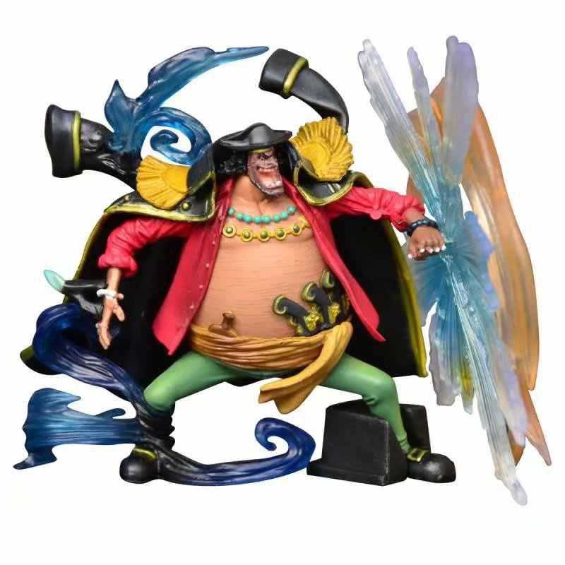 9.5-12 cm 4 pçs/lote anime Japonês figura one piece Marshall D teach/Boa Hancock/Jinbei/ sir Crocodile action figure