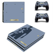 Uncharted 4 A Thief's End PS4 Pro Skin Sticker Vinyl Decal