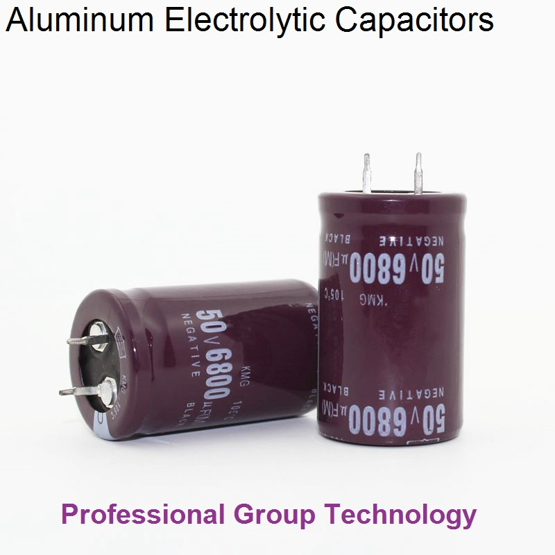 20pcs R99 Good quality 50v6800uf Radial DIP Aluminum Electrolytic Capacitors 50v 6800uf Tolerance 20% size 25x40MM image