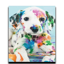 DIY Crafts Diamond painting kits Animals 3d square mosaic Full Embroidery decoration Ornaments Watercolor picture dog