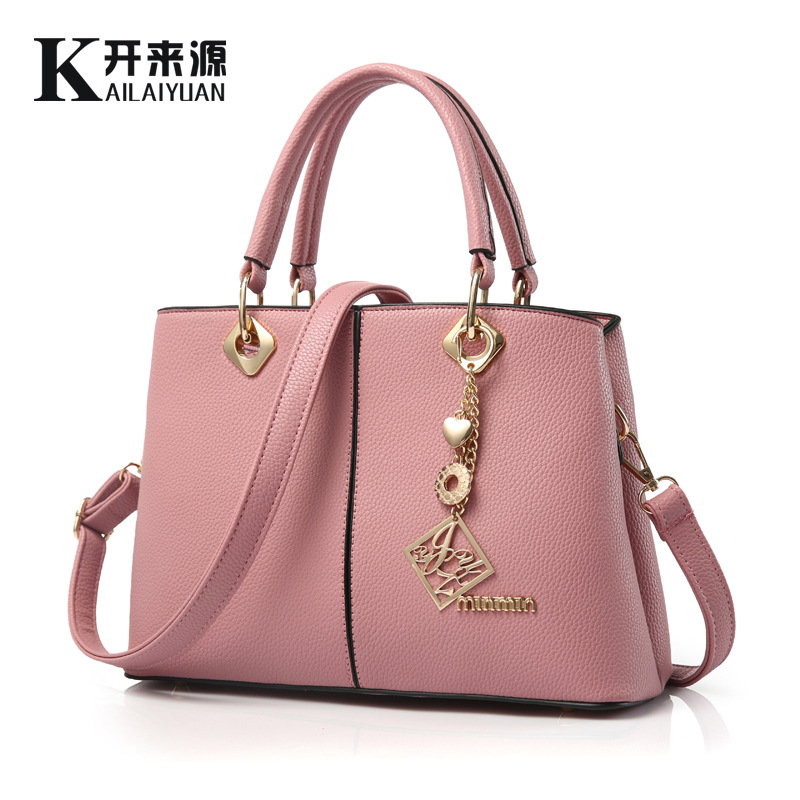 2016 New Arrival Women s Handbags PU Leather Women Tote Bag Fashion Shoulder Bags Casual Handbags