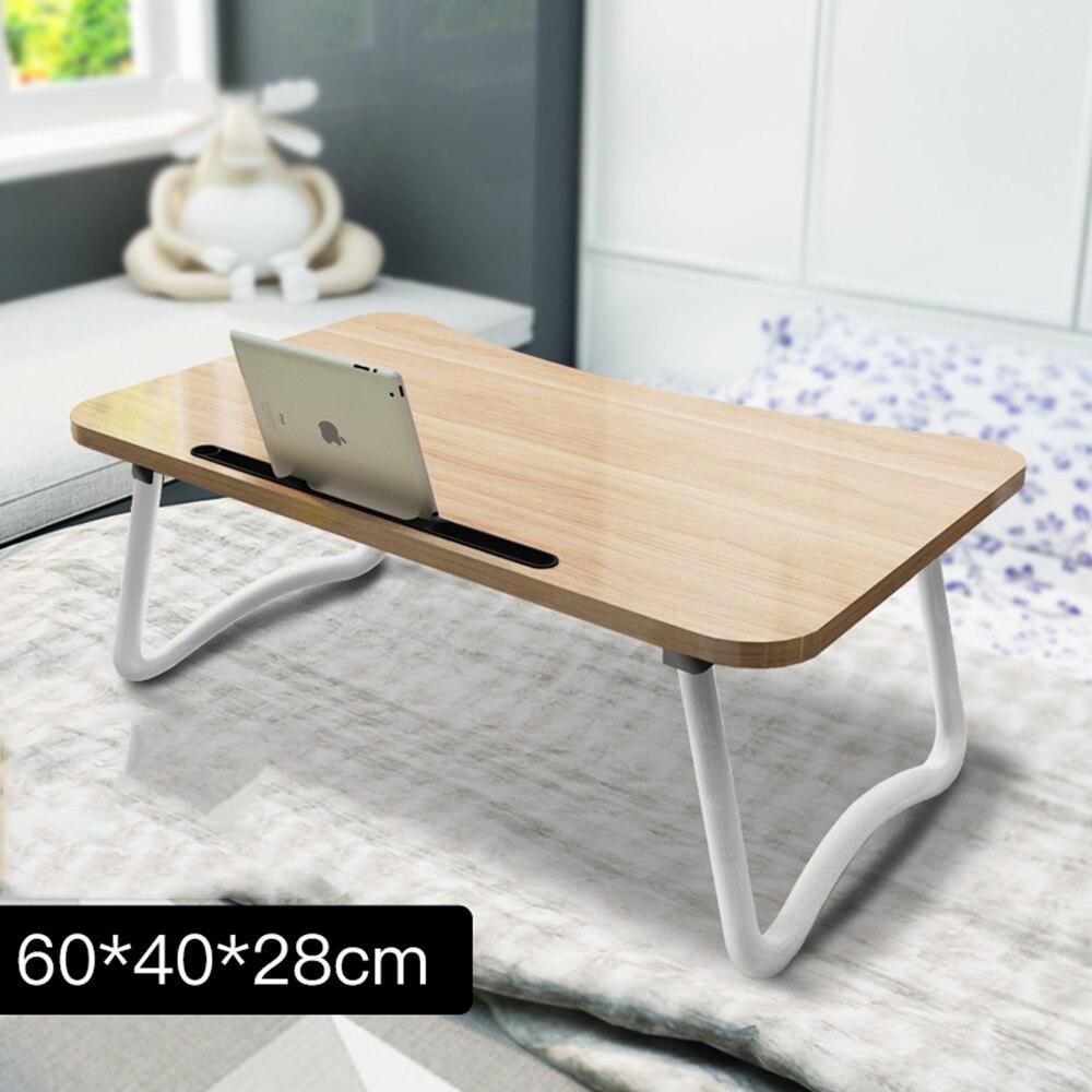 2018 Laptop Schreibtisch Verstellbare Falten Laptop Notebook Pc Schreibtisch Tisch Stehen Tragbare Bett Tablett Alle-5 60*40 Cm