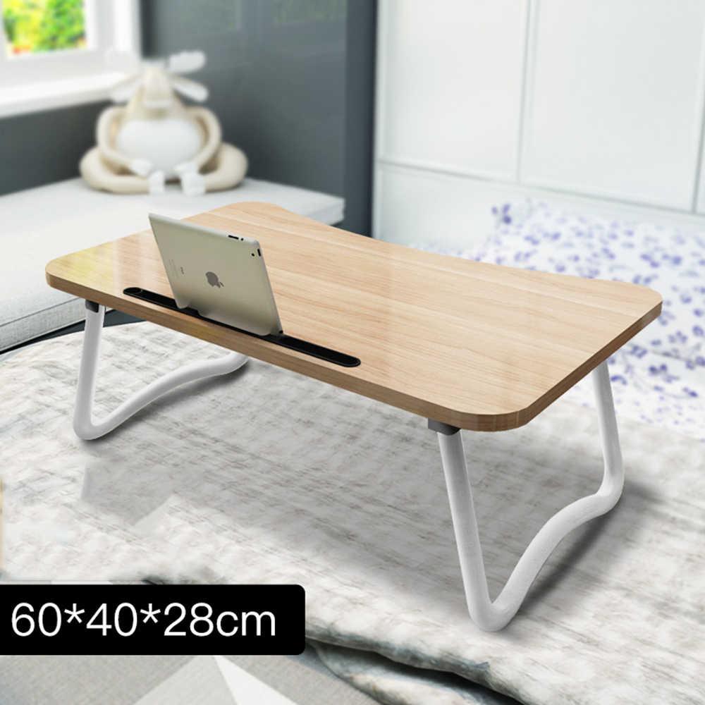 Escritorio portátil 2018 ajustable plegable portátil ordenador portátil PC escritorio Mesa soporte portátil cama bandeja todo-5 60*40 cm