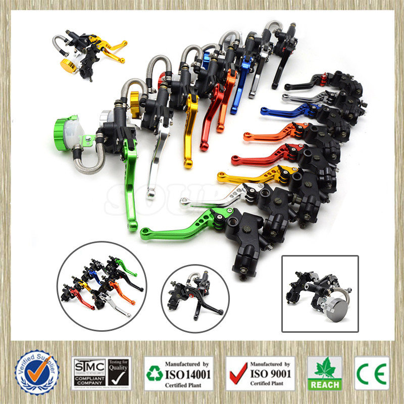 free shipping  motorcycle CNC  Aluminum Adjustable brake clutch lever& brake pump  For Ducati SPORT 1000 2006 2007 2008 2009 aftermarket free shipping motorcycle parts eliminator tidy tail for 2006 2007 2008 fz6 fazer 2007 2008b lack