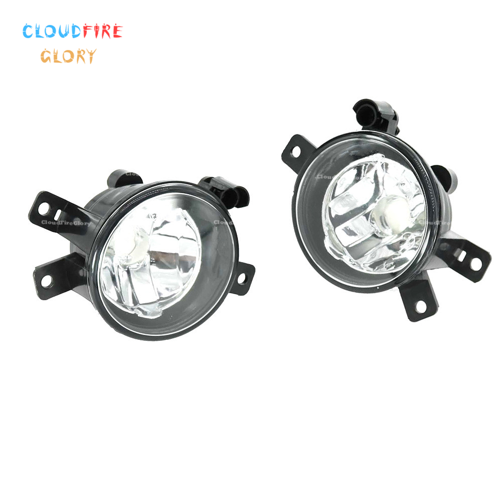 CloudFireGlory 63172993525 63172993526 Pair Fog Light Running Light Lamp DRL Left Right For BMW E84 X1