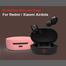 Waterproof Non-slip Protective Case For Xiaomi Redmi Airdots TWS Youth Version Earphone Wireless Bluetooth Headset Accessories E