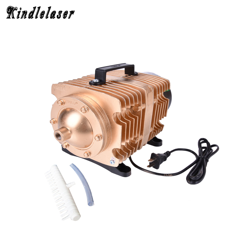 ACO-009E 160W Laser Air Compressor Electrical Magnetic Air Pump for CO2 Laser Engraving Cutting Machine