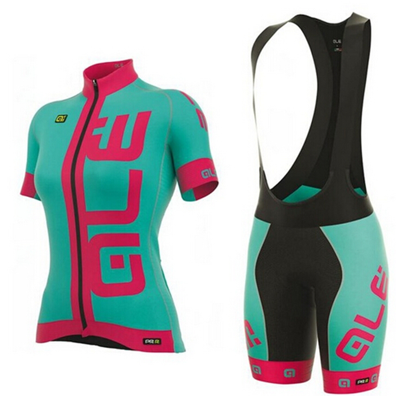 2017 Team Woman New Summer Cycling jersey Ropa Ciclismo/short sleeve Bycicle Clothing/Quick-Dry Racing Bike Sports Wear 2016 team sky cycling jerseys bike maillot ciclismo bycicle clothing quick dry men summer clothes wear set ropa de ciclismo