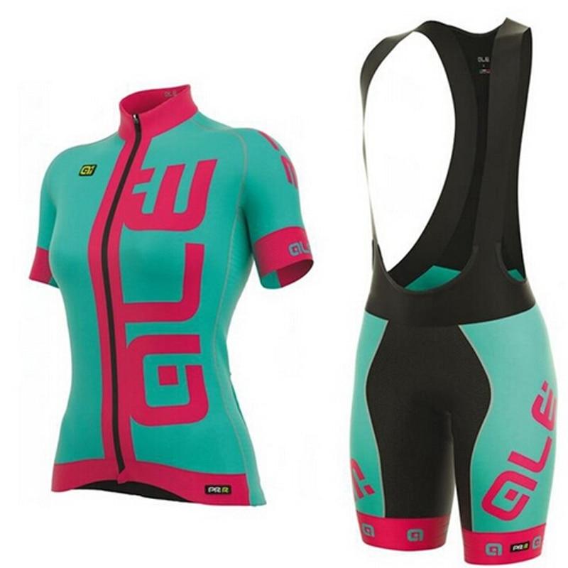где купить 2017 Team Woman New  Summer Cycling jersey Ropa Ciclismo/short sleeve Bycicle Clothing/Quick-Dry Racing Bike Sports Wear по лучшей цене