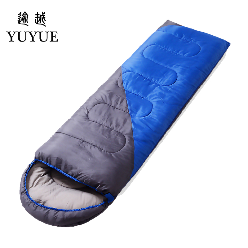 2.2 kgs Waterproof Camping Sleeping Bag Winter Outdoor Splicing Double Sleeping Bags For Lovers Sleep Bag For Women Cold Weather 2