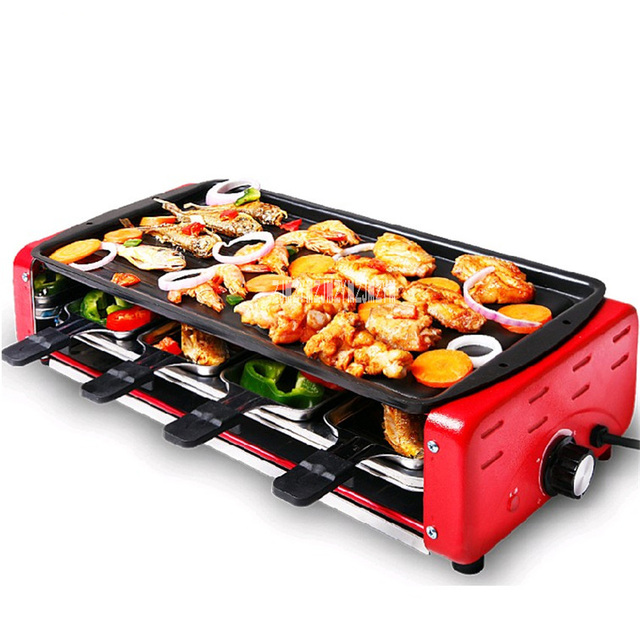 BY A 1800W 220V Household Electric Barbecue Grill Smokeless Indoor ...