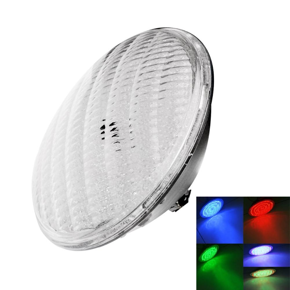 ФОТО 2pcs/lot , 40W RGB PAR56 Swimming Pool Lamp / Underwater Light  (DC 12V), free shipping
