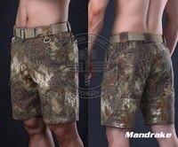 Shorts Hommes Camouflage Ripstop D'été En Plein Air Airsoft Tactique Kryptek Mandrake Highlander Typhon Pantalon + Livraison gratuite (STG050996)