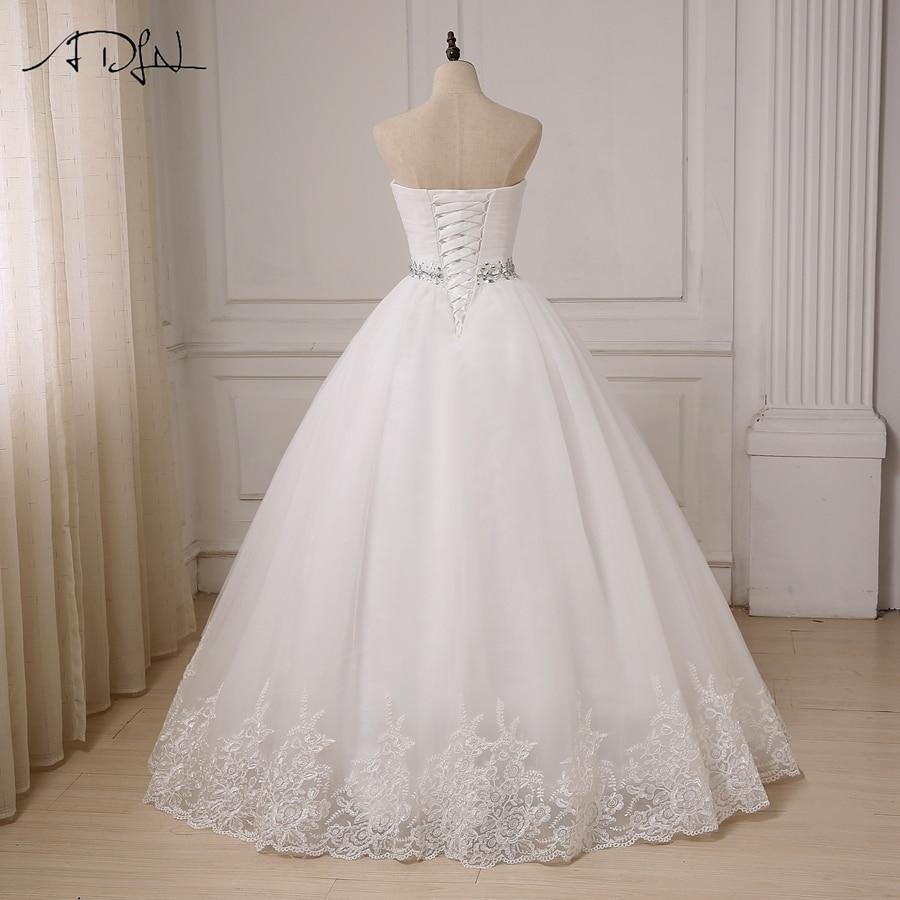 ADLN billiga bröllopsklänningar 2017 Sweetheart Bollklänning Tulle - Bröllopsklänningar - Foto 2