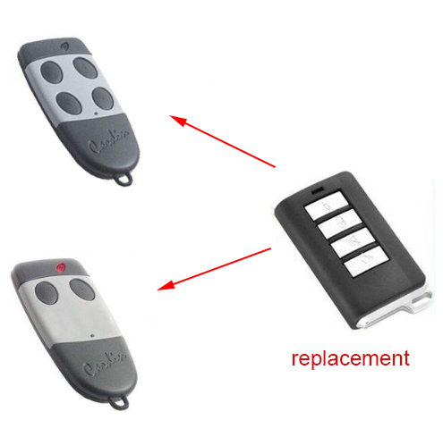 High Quality CARDIN S449 Garage Door Repalcement Remote Transmitter With Battery