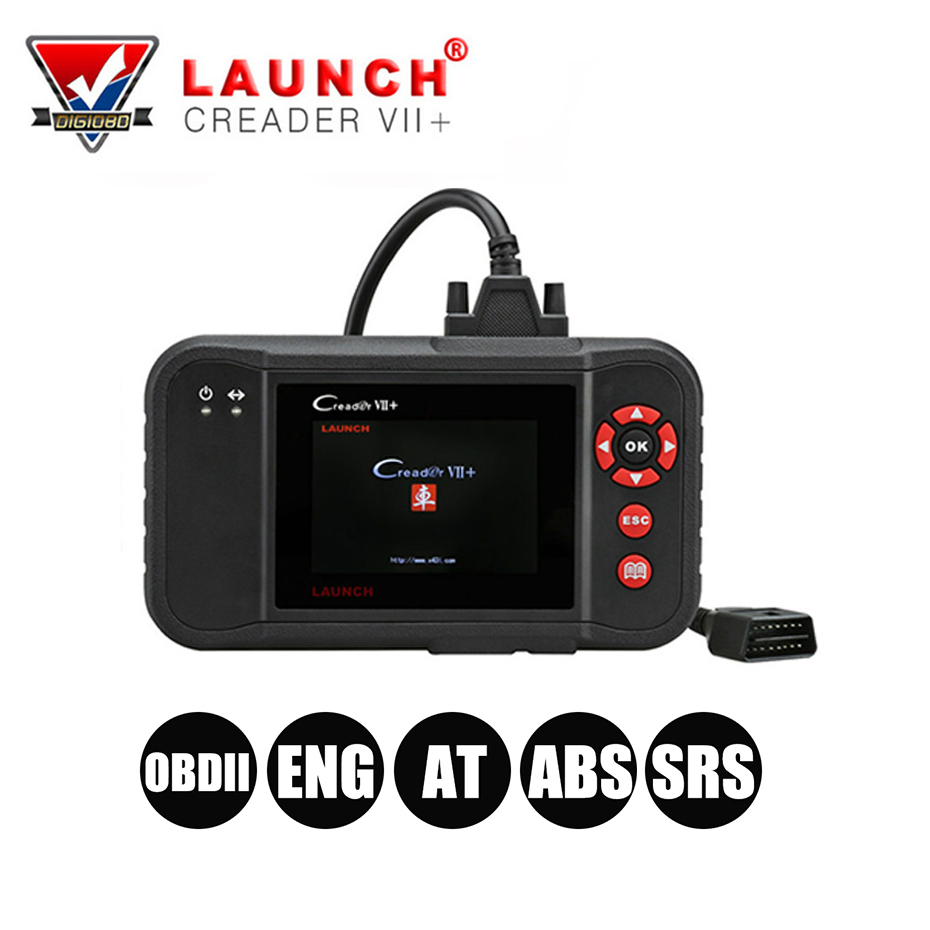 цена LAUNCH X431 Creader VII+(CRP123) OBDII Diagnostic Auto Code Reader Scanner Engine/Transmission/ABS/Airbag Creader VII Plus