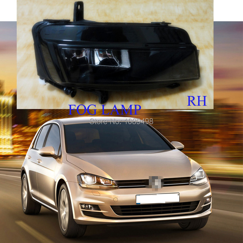 1 Pieces 5GG941662 right side front bumper lamp fog light RH for VW MK7 Volkswagen Golf VII 7 2014 1pcs new oem rh front bumper fog lamp fog light for kia sportage 2014 2015