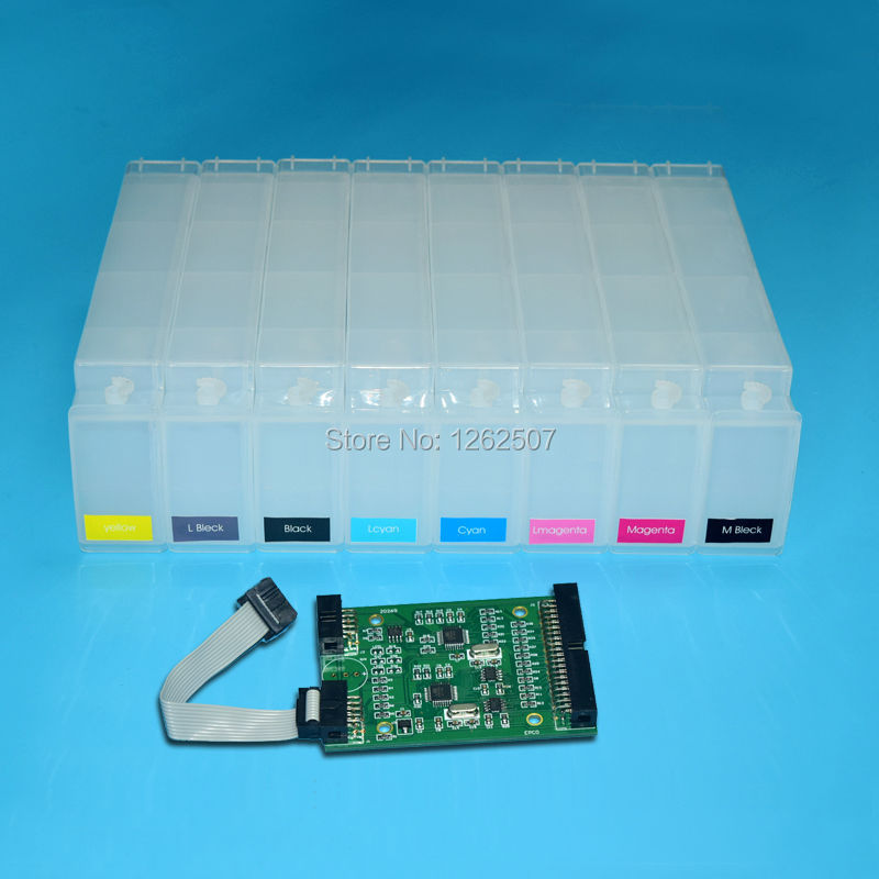 Hp Designjet Z6100 Refill Cartridge With HP 91 Chip Decoder