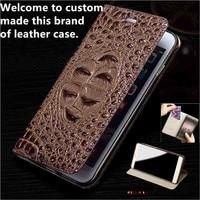 JC04 Genuine Leather Flip Case For Nokia 6 Phone Case For Nokia 6 Leather Cover free shipping