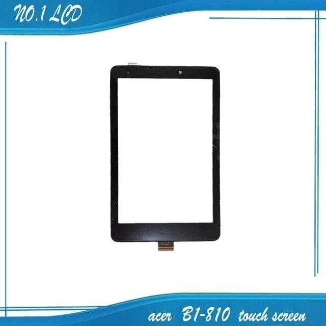 8 дюйма Для Acer Iconia One 8 B1-810 Сенсорного Экрана Digitizer Стекло Объектива Емкостный Рукописный Панель С Логотипом
