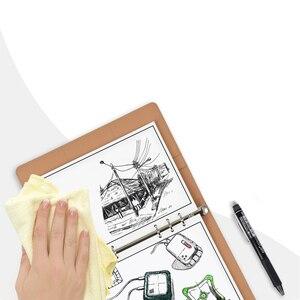 Image 3 - Elfinbook מיני חכם לשימוש חוזר מחיק פו עור מחברת נייר פנקס יומן כתב עת משרד בית ספר מטיילים כמו Rocketbook