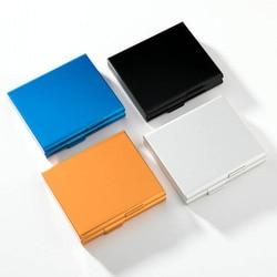 Aluminiowy prezent dla mężczyzny 20 pojemnik do przechowywania papierosów dwustronny Flip Open 1 PC papierośnica Dampproof