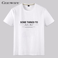 CEEWHY Brand 2017 New Fashion Summer T Shirt Men O Neck Modal Comfortable T Shirt Casual