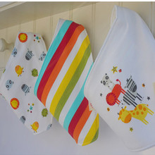 3pcs/lot Cotton New Baby babador bandana bibs for babies Towel Toddler Scarf boys Girls baby bib burp Cloths FE82RWE(China)