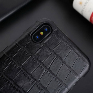 Image 4 - For iPhone 12 Pro Max Case Genuine Leather Cover for iPhone X 11 Pro Max 7 8 Plus X XR XS MAX SE 2020 Phone Cases Back Funda