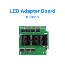 led control card conversion card Hub41A for led adpater board control system adapter with 8*hub41 port included for led screen цена 2017