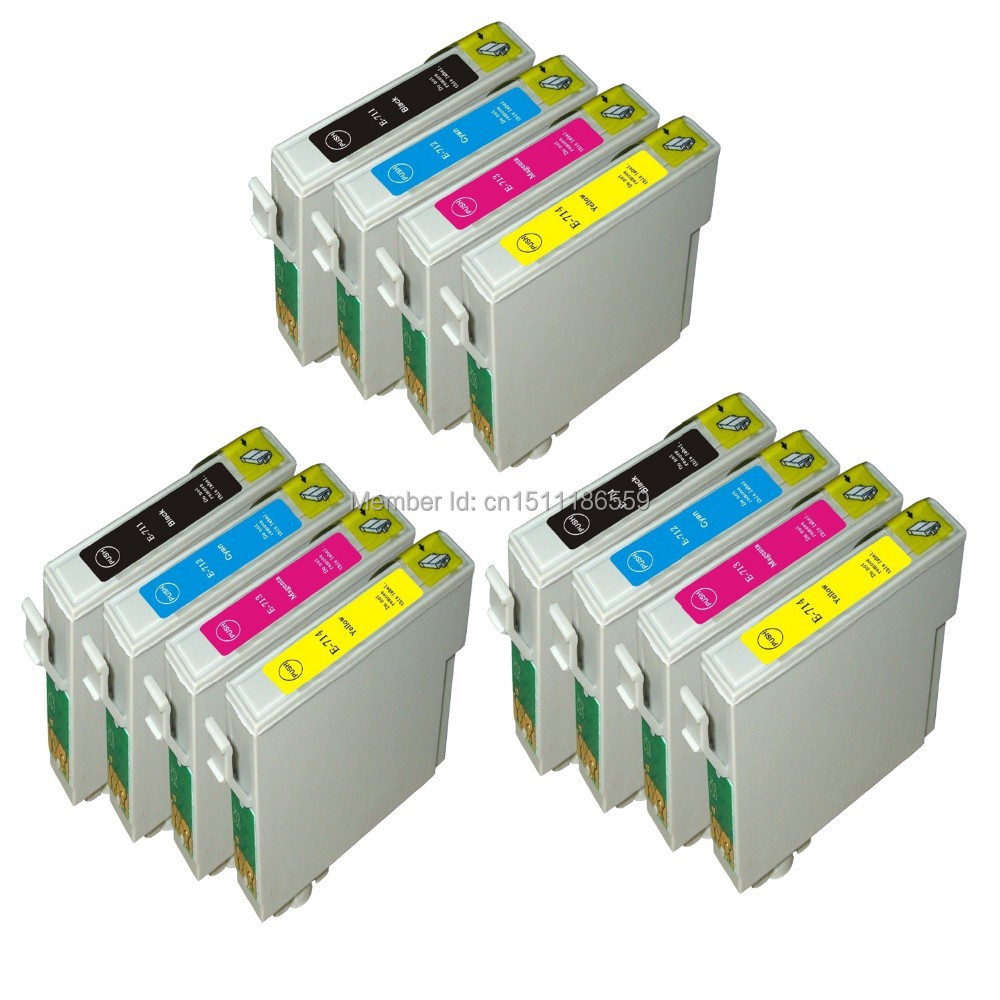 12X Совместимость epson t0891 T0892 t0893 t0894 картридж для Stylus SX410 SX415 sx510w sx515w sx600 принтер t0895xl