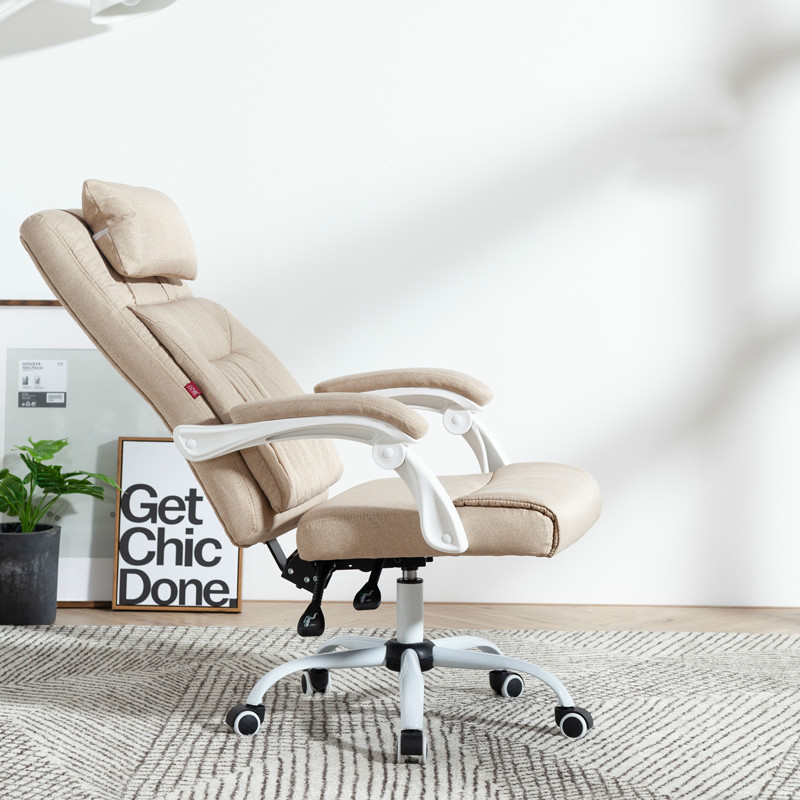 Fabric Computer Chair Household Office Boss Chair Reclining Rotating Lifting Chair Stool Silla Oficina Cadeira Gamer