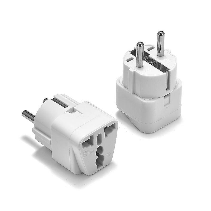 Not UK 2 Pin Mains Europlug Suits most European Sockets