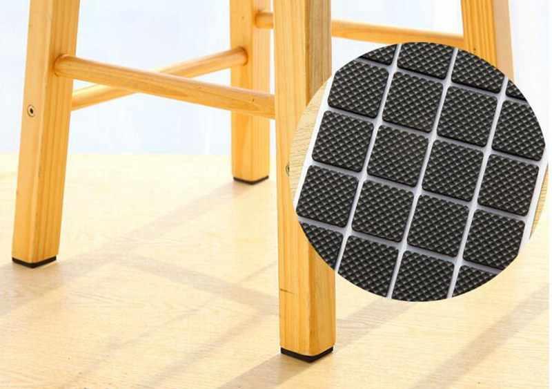 2-24PCS Self Adhesive Möbel Bein Füße Teppich Filz Pads Anti Slip Matte Stoßstange Dämpfer Für Stuhl Tisch protector Hardware