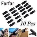 10 pcs/lot Camping Tent clamps Crocodile Clips Clamps Attaching Tent Outdoor camping Traveling Anti Wind Black
