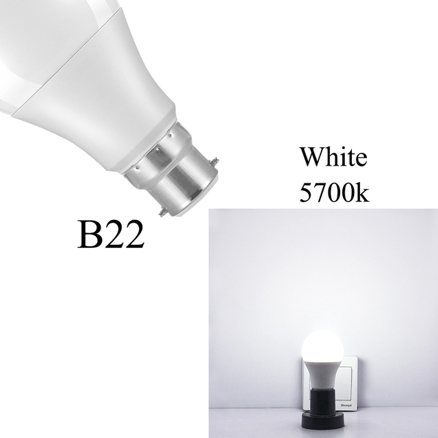 Ip44 Led Sensor Light Bulb E27 B22 10w