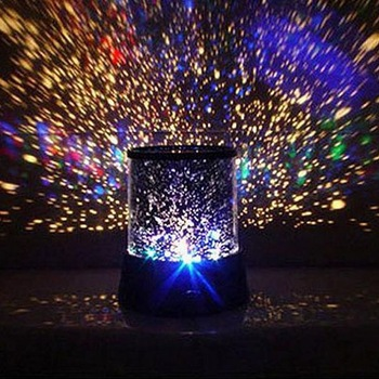 Dreamlike Colorful Star Master Night Light Novelty Amazing LED Sky Projector Atmosphere Lamp - Hapee House store