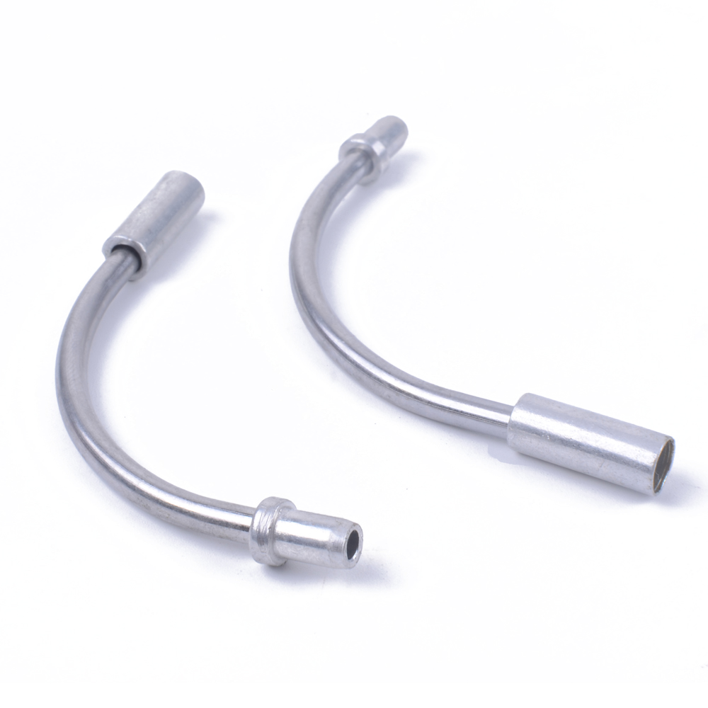2 Sets  MTB Mountain Bike Bicycle Accessories V Brake Noodles Cable Guide Bend T