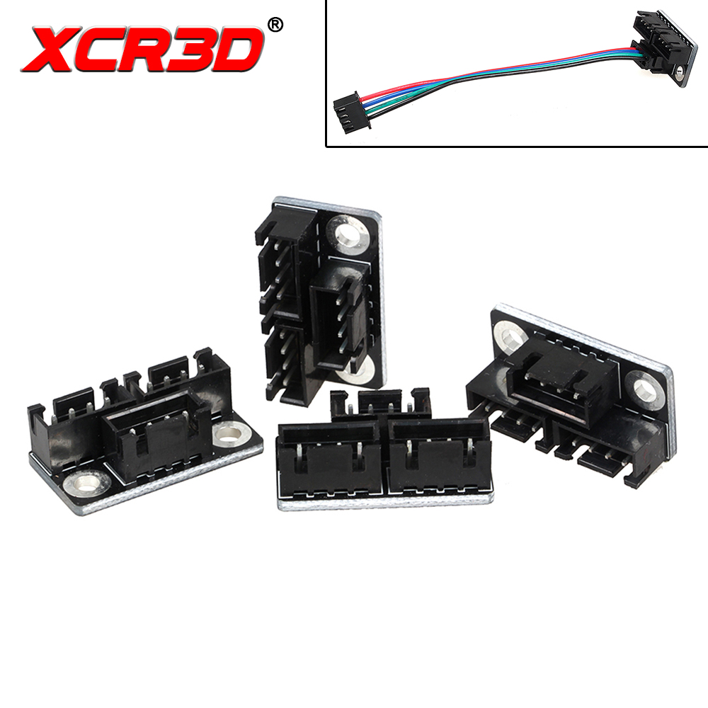 XCR3D 3D Printer Parts Motor Parallel Module Double Z Axis Dual Z Motors One To Two Diverter with 4P