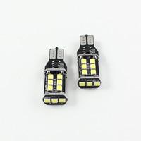 FSYLX 2 UNIDS T15 W16W 921 LED CANBUS 15SMD 3535 LED Luz de Reserva Reversa T10 W5W LLEVÓ el Bulbo 800lm Brillante blanco