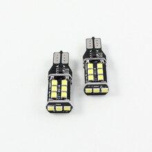 цена на T15 W16W 921 LED CANBUS CREE 3535 Newest Chip 15SMD LED High Power Reverse Backup Light T10 W5W LED Bulb 800lm Bright White
