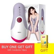 купить BODYPRO Leten Smart Electric Lick Suck Male Masturbator Cup Heating Automatic Oral Sex Machine Adult Sex Toy for Men дешево