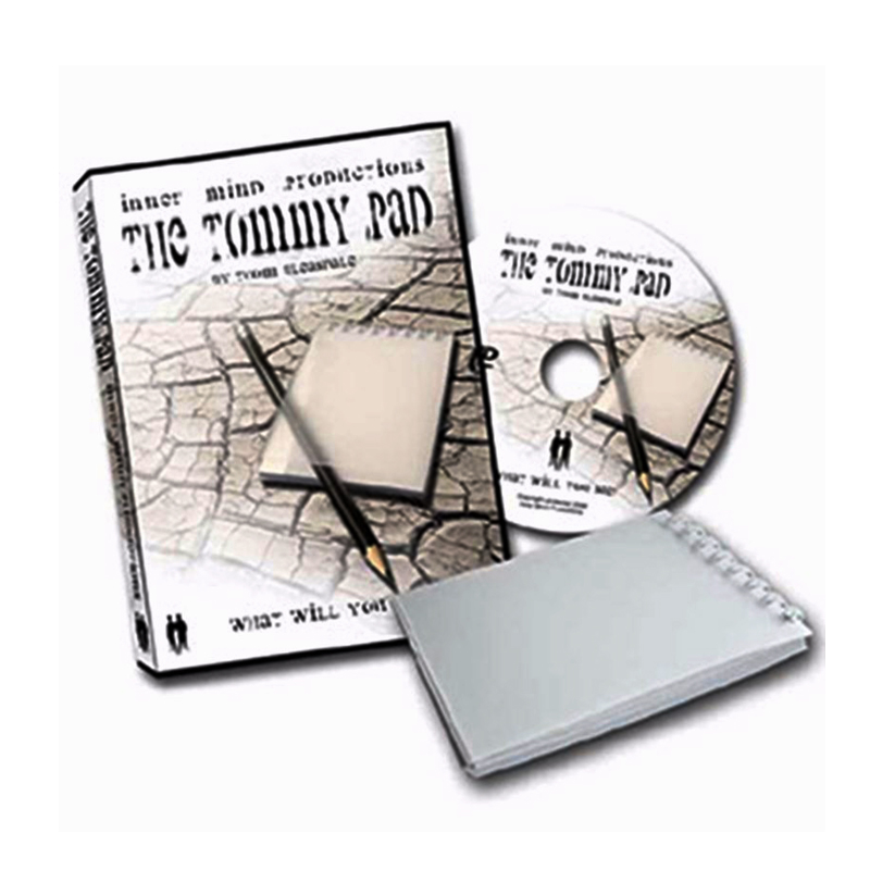 все цены на Tommy Pad(Gimmick with DVD) magic tricks Inner Mind Productions Mentalism Magic, Magic Trick , Mind props Accessories 81201