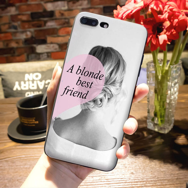 MaiYaCa Novelty Fundas Phone Case Cover BFF Best Friends Girly For