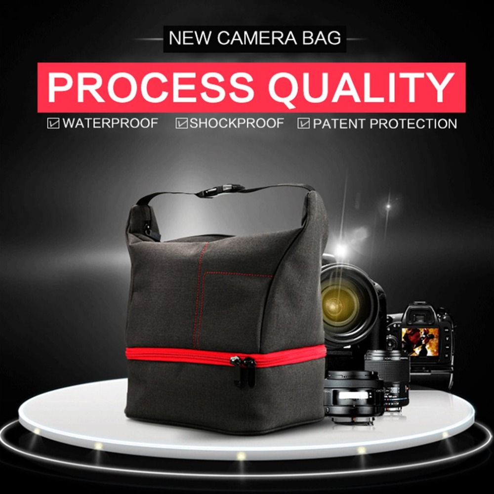Features: Suitable for almost all DSLR cameras. Great travel companion for photographers, photojournalists. Waterproof and shock