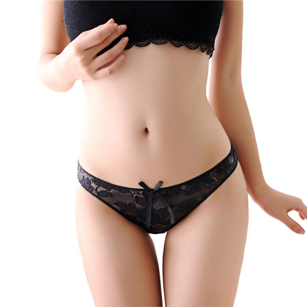 Hot Sale New Women Sexy Lace Panties Breathable Seamless Briefs Hollow Women Underwear 11