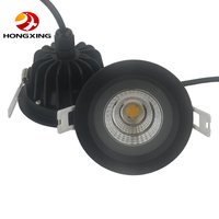 5w 7w 9w 12w Dimmable COB LED Ceiling down Light round Recessed Led Downlight IP65 Waterproof AC110-265V home decor lighting